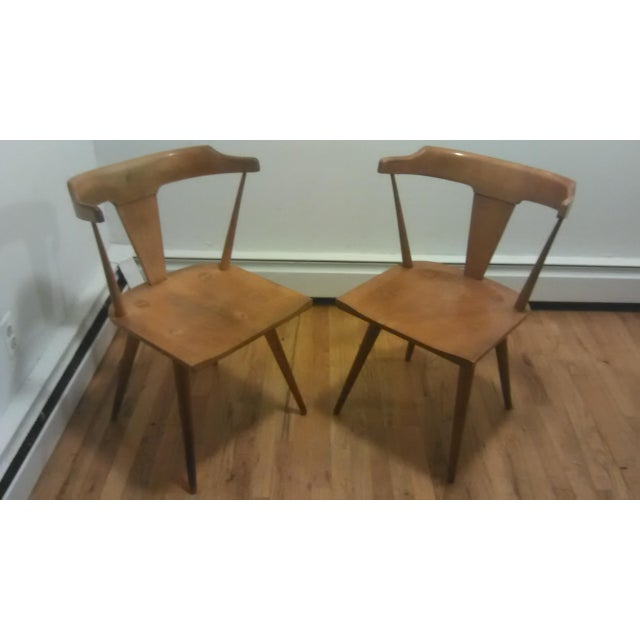 Paul McCobb Mid Century Modern Dining Chairs - a Pair - Image 3 of 9