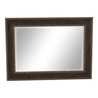 Beveled Glass Decorative Rectangular Mirror For Sale