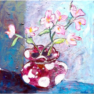 """Contemporary """"Spring Bouquet"""" Oil Painting For Sale"""