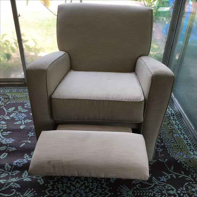 Classic Glider Recliner Club Chair - Image 8 of 11