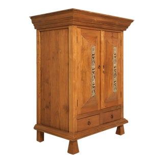 Vintage Indonesian Teakwood Cupboard or Armoire For Sale