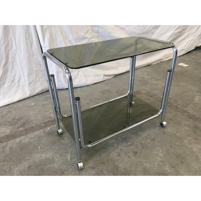 Mid-Century Modern Drink Cart Server For Sale In Austin - Image 6 of 8