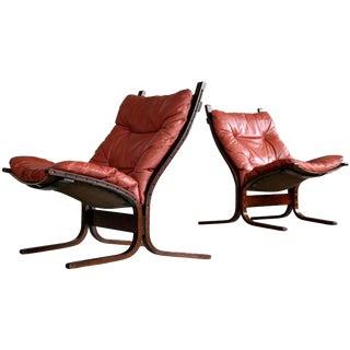 Ingmar Relling for Westnofa Siesta Sling Chairs - A Pair