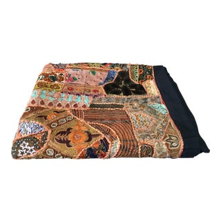Antique Indian Wedding Blanket For Sale