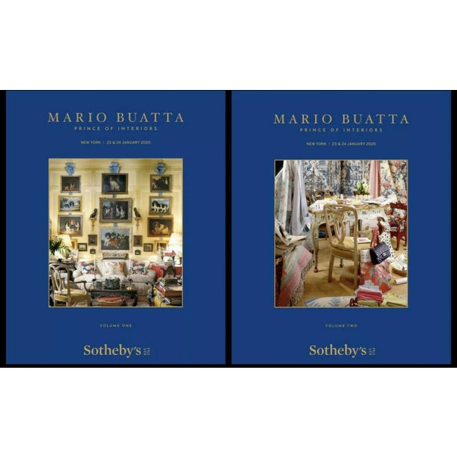 American Sotheby's Preferred Auction Catalogue 2020 January Mario Buatta 2 Volumes For Sale - Image 3 of 6