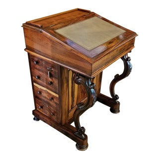 Early 19c British Davenport Desk in the Manner of Gillows For Sale