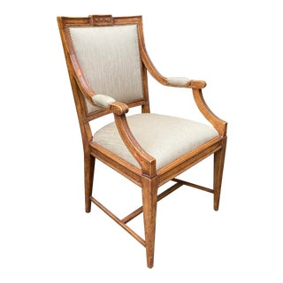 Charles Pollock William Switzer Gustavian Style Desk Chair For Sale