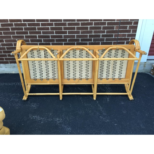 Vintage Ficks Reed Co. Vintage Rattan Sofa - Image 11 of 11
