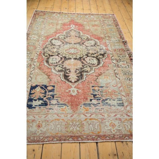 "Vintage Oushak Distressed Carpet - 4'10"" X 8'2"" - Image 7 of 10"