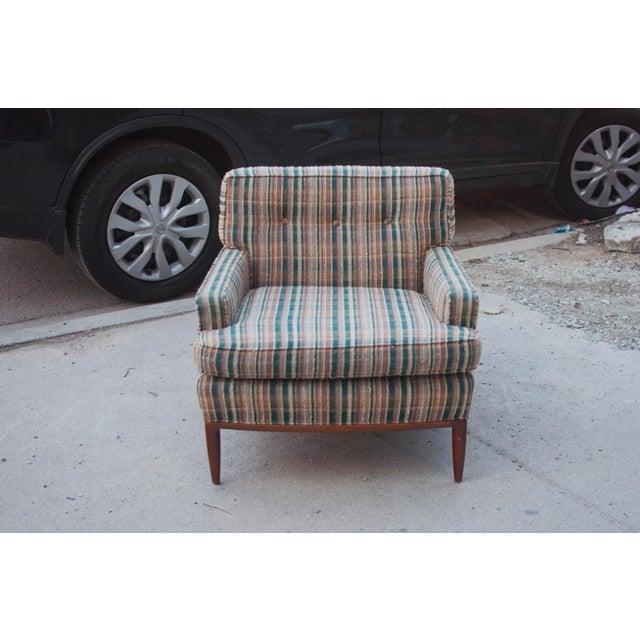 T. H. Robsjohn-Gibbings Attributed Club Chair - Image 4 of 6