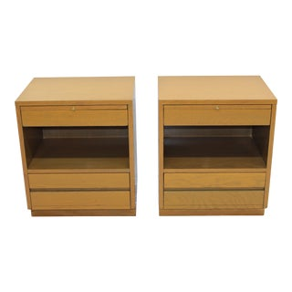 Sligh Mid-Century Modern Nightstands - A Pair For Sale