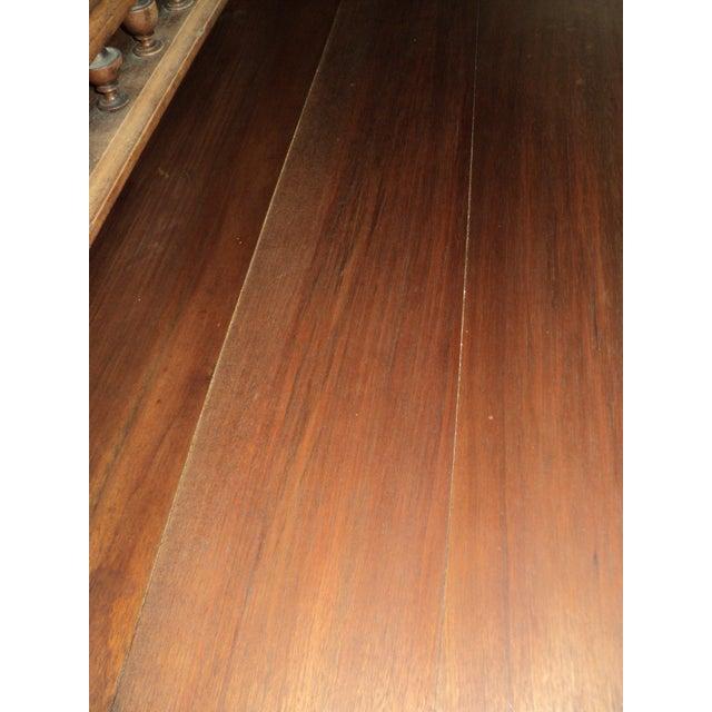 Antique Walnut Court Cabinet Cupboard - Image 6 of 7
