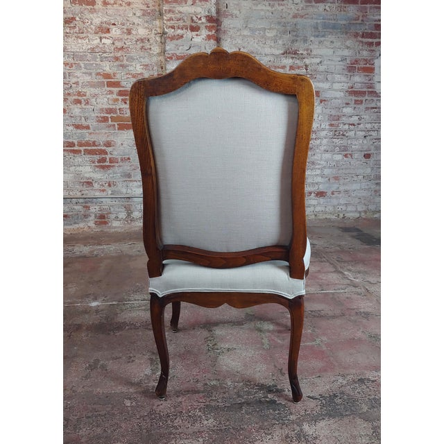 French Provincial Country Style Oversized Dining Chairs - Set of 4 For Sale - Image 9 of 10