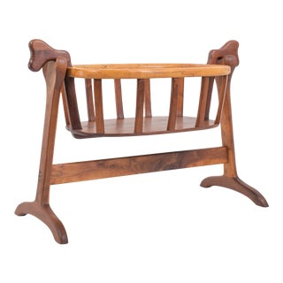 Ejner Pagh American Craftsman Bassinet in Walnut For Sale