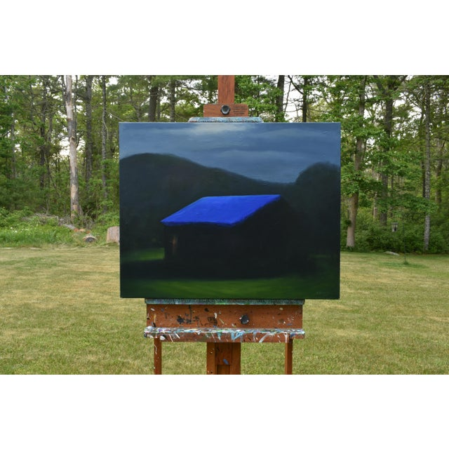 """""""Temporary Fix With a Storm Approaching"""" Painting For Sale - Image 9 of 12"""