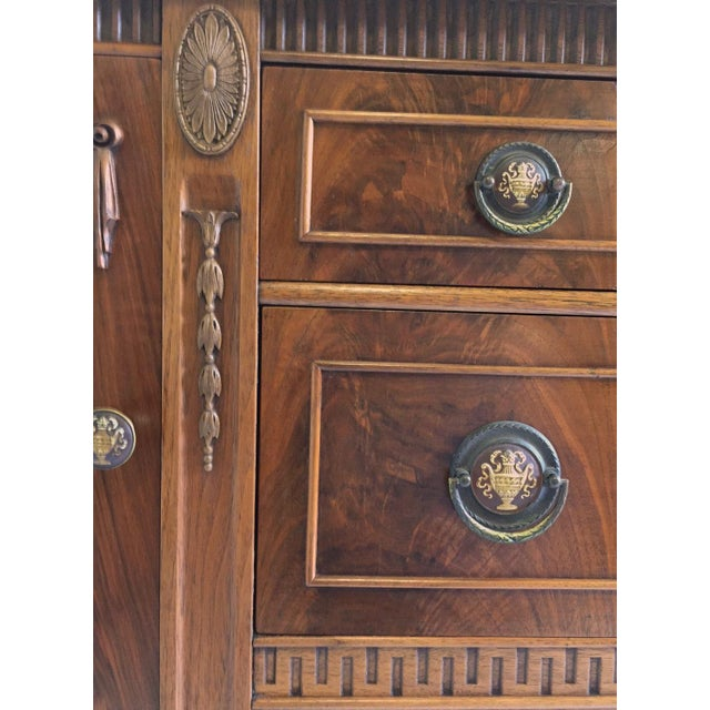 Early 20th Century Antique Mahogany Sideboard/Credenza For Sale - Image 5 of 8