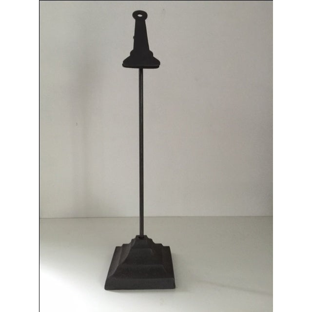 Tall Standing Metal Clip - Image 2 of 3