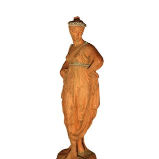 Mid 19th C. English Signed Garden Statuary For Sale