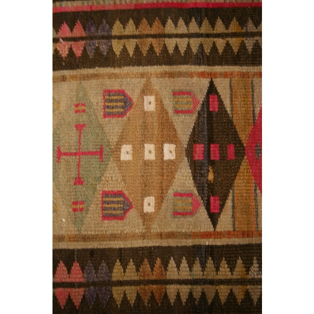 Late 19th Century Antique Oushak Design Rug For Sale - Image 5 of 6