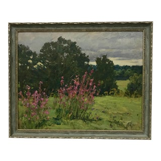 Impressionist Russian Oil Painting by Alexei P. Yeryomenko For Sale