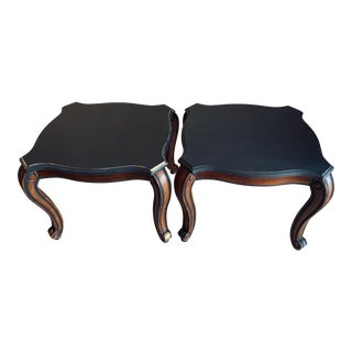 Vintage Hollywood Regency Side Tables - a Pair For Sale