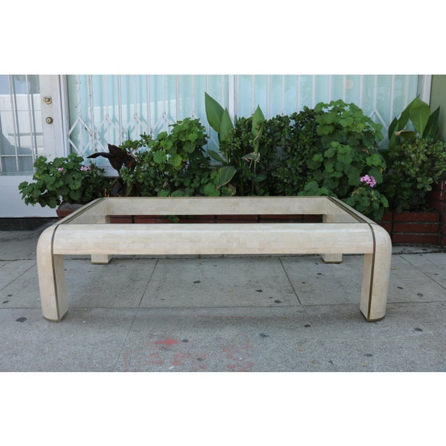 1980s 1980s Hollywood Regency Maitland Smith Coffee Table For Sale - Image 5 of 9