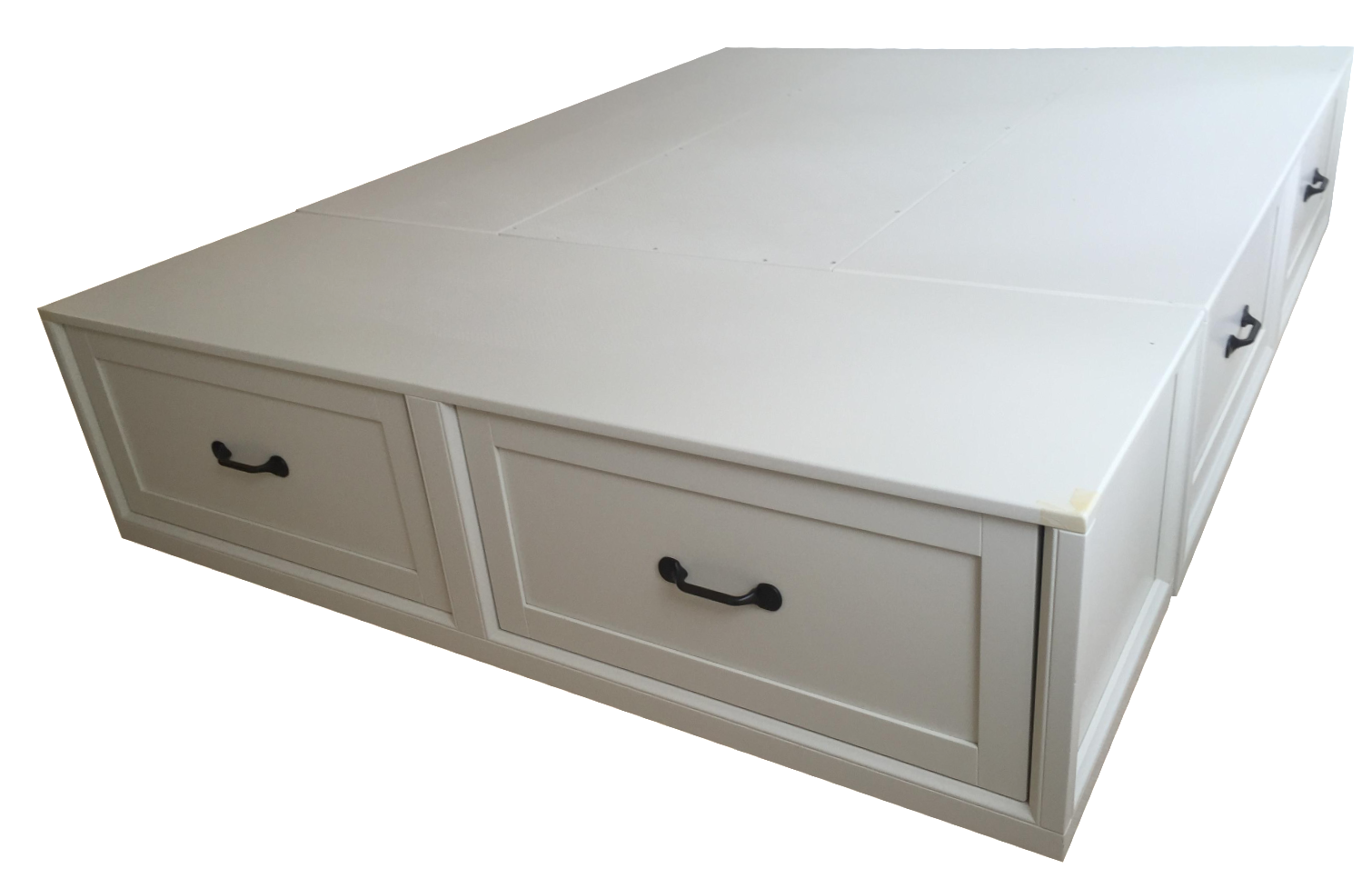 Pottery Barn Stratton Storage Bed With Drawers Chairish
