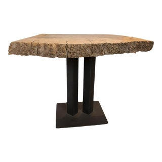 Small Live Edge Table For Sale