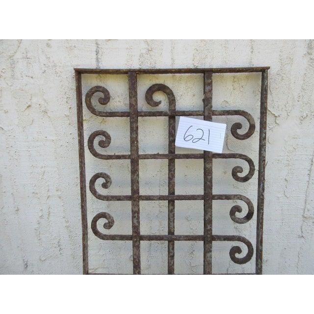 Victorian Iron Gate Window Garden Fence Door - Image 5 of 6