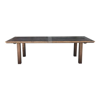 Amazing Industrial Dining/Conference Table For Sale