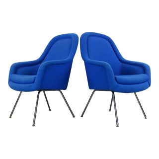 Vintage Mid Century Pearson for Knoll Style Arm Chairs- A Pair For Sale