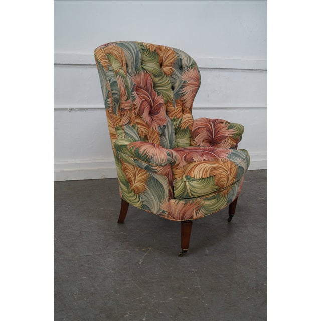 New Orleans by Councill Tufted Fan Back Wing Chair - Image 5 of 10
