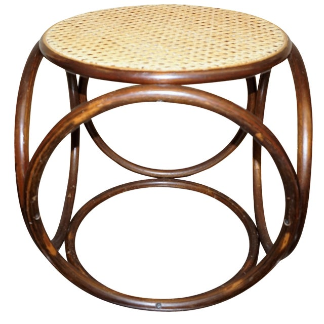 Michael Thonet Secessionist-Style Stool - Image 1 of 4