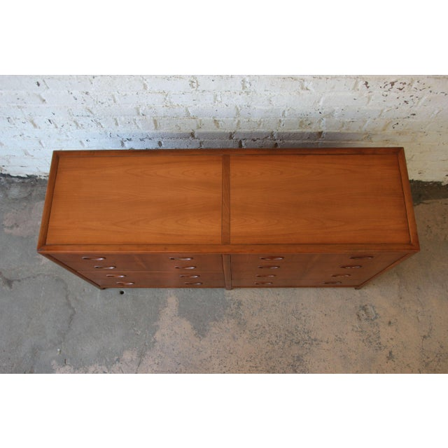 Michael Taylor for Baker New World Collection Eight-Drawer Dresser or Chest For Sale - Image 9 of 11