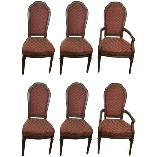 Henredon Mid-Century Modern Dining Chairs - Set of 6