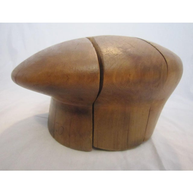 Wood Hat Block Mold - Image 4 of 4