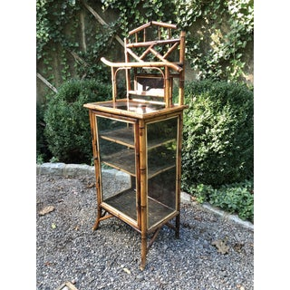 19th Century English Bamboo Cabinet Preview
