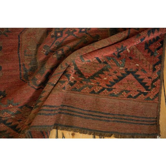"""Afghan Vintage Ersari Carpet - 8'2"""" X 9'8"""" For Sale - Image 3 of 10"""