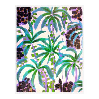 Island House 4 by Lulu DK in White Framed Paper, Medium Art Print