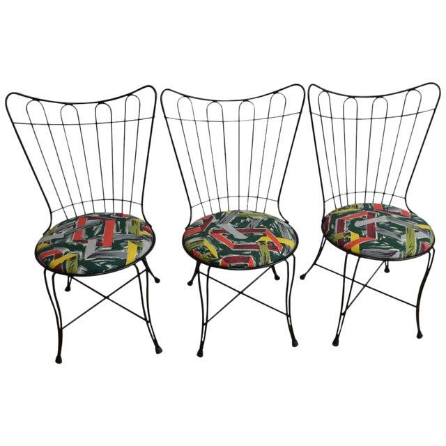 Salterini Vintage Patio Chairs - Set of 3 - Image 1 of 8