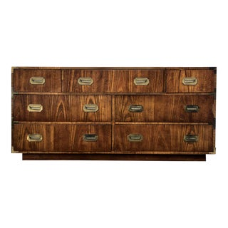 1960s Dixie Campaign Chest or Sideboard For Sale