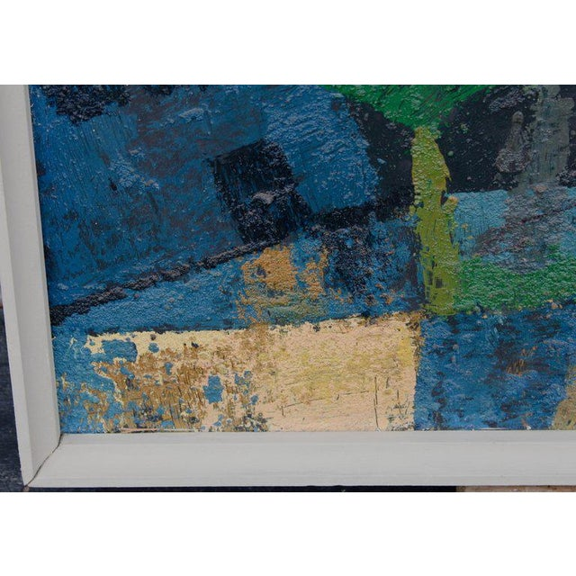 William Mccloy William McCloy Mixed Media Painting on Board For Sale - Image 4 of 7