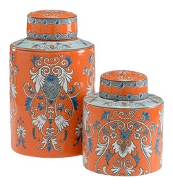 Image of Newly Made Ginger Jars