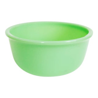 Large Vintage Jadeite Mixing Bowl For Sale