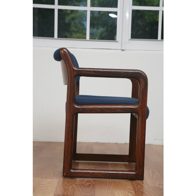Vintage 1970s Mid-Century Modern Wooden Chair For Sale In Miami - Image 6 of 11