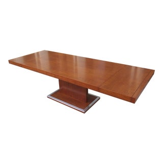 Milo Baughman for Founders Walnut Extension Table