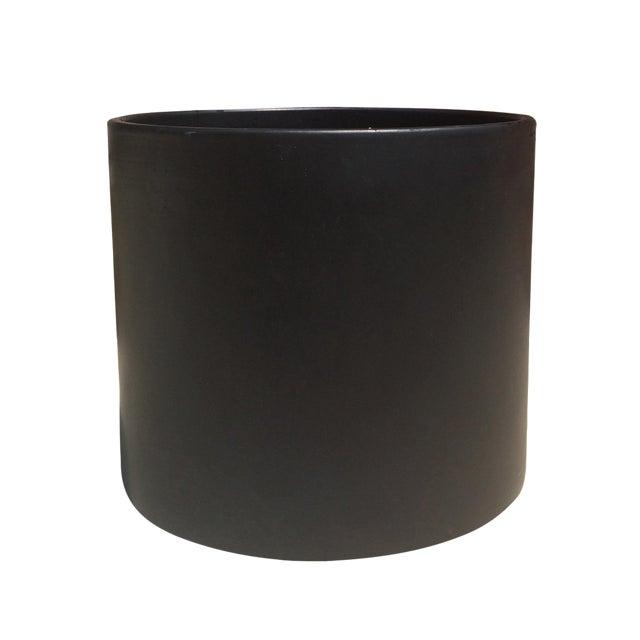 Matte Black Gainey AC-16 Planter Pot For Sale