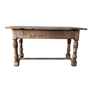 Antique Bleached Middle Table