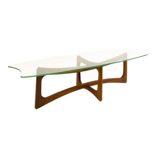 Mid Century Modern Adrian Pearsall Ribbon Coffee Table For Sale