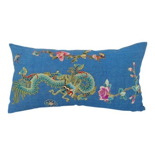 Chinese Dragon Opera Robe Pillow For Sale